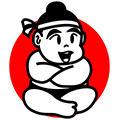 Sumo Sumo Sushi Logo in Footer
