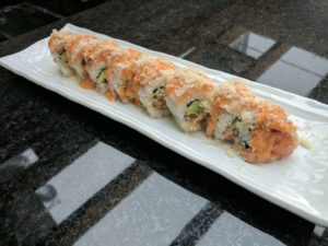 crunchy spicy salmon roll